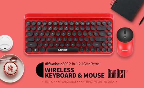 Best Buy! Coupon Code for Alfawise K800 Keyboard Mouse Combo