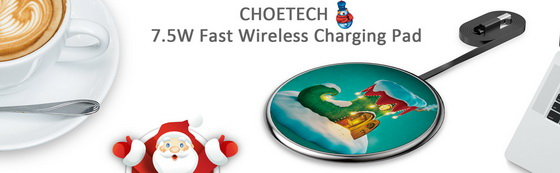 Hot Deal! Coupon Code for CHOETECH Ultra Slim Charging Pad @ Amazon