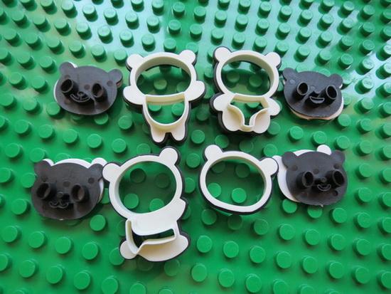 Panda Cookies Mould