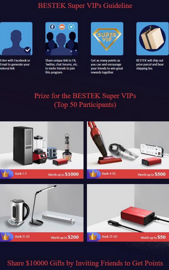 BESTEK Annual Super VIP