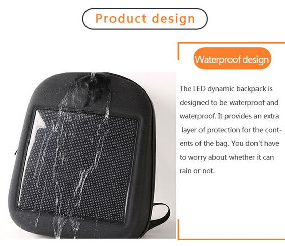 Led Dynamic Backpack