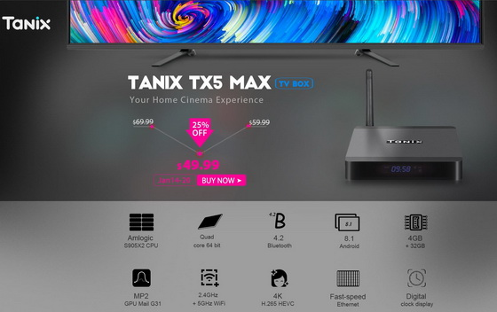 Tanix TX5 Max