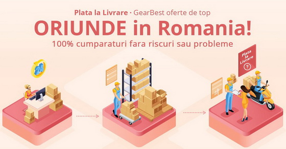 Gearbest ajunge in Romania