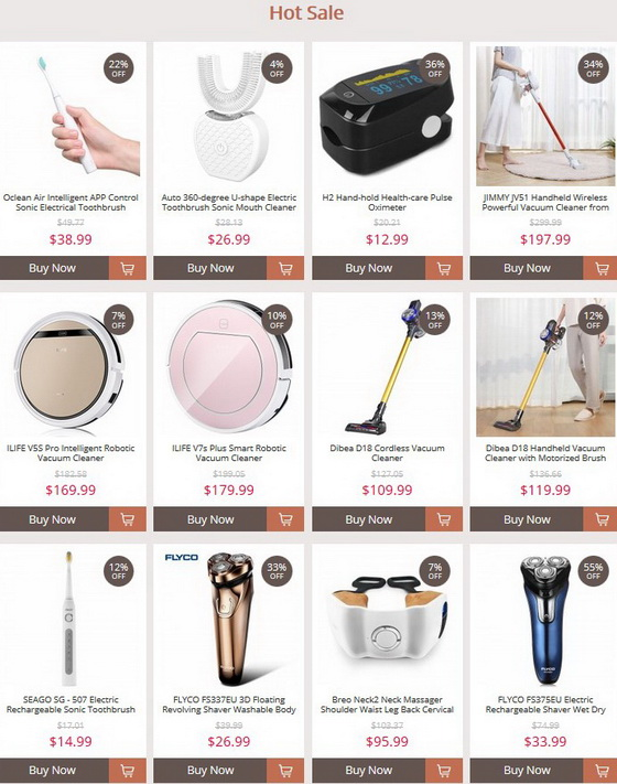 Home Appliances Markdowns
