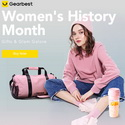 The Best Woman's History Month Promotion @ Gearbest