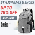 Up to 70% Off for Stylish Bags&Shoes promotion @ Gearbest