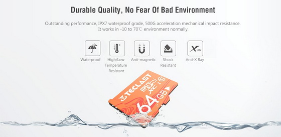 Coupon for Teclast High Speed Waterproof Micro SD Card 32GB