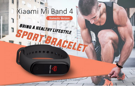 Xiaomi Mi band 4 International Firmware, themes and user
