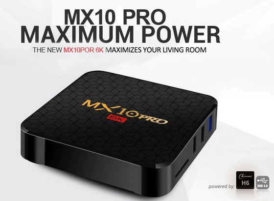 Download Android 9 0 stock firmware for MX10 Pro 6K TV Box