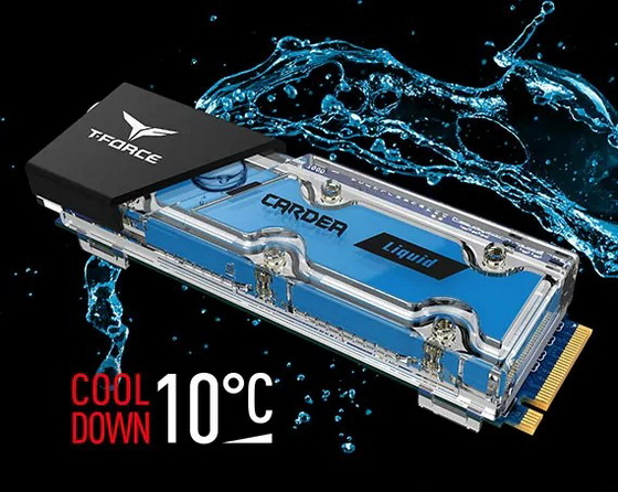 Water-Cooled SSD