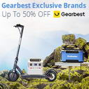 Outdoors Sports Exclusive-Brand Special Sale @ Gearbest