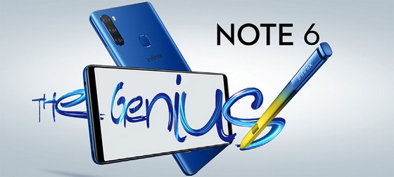 Infinix Note 6 brings the style and the stylus - China
