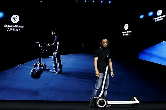 semi-autonomous scooter