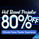 Hot Brand Projector Promotion @ Banggood