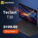 Global Launch Teclast T30 for $199.99 @ Gearbest