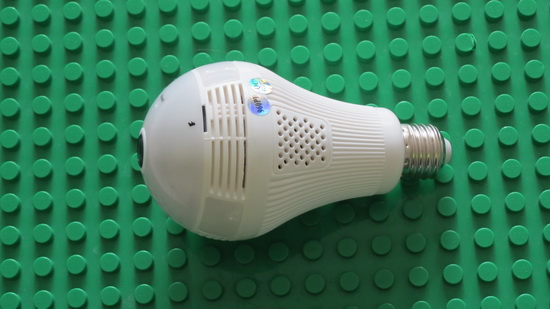 Security Surveillance Bulb Camera