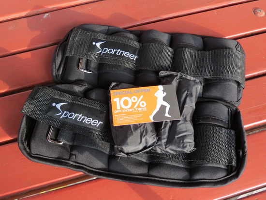 Sportneer Adjustable Ankle Weights