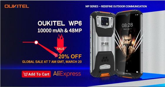 Oukitel WP6