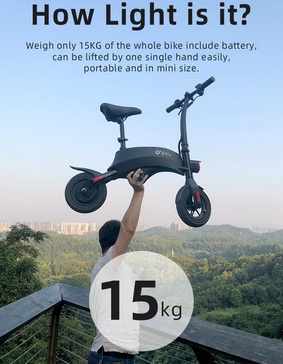 DYU S1 E-scooter