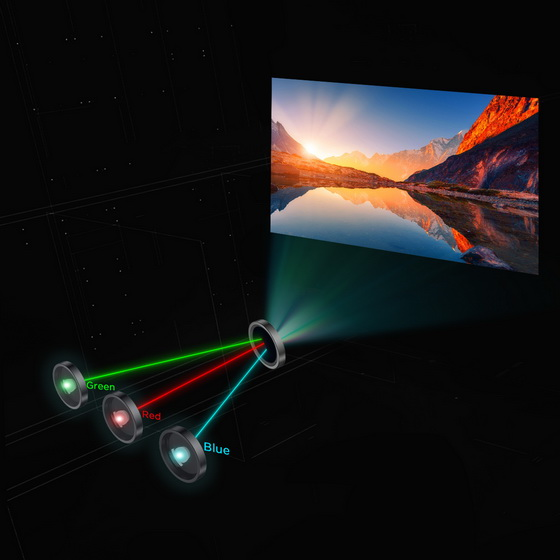 Polaris 4K UST Laser TV