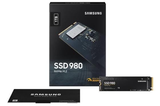 980 NVMe SSD